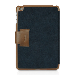 [Macally]아이패드 미니 BSTANDMINIBL Leather Case iPad Mini [Blue]