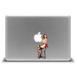 Pin-up girl _for macbook